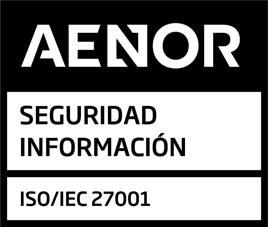 Sello AENOR_seguridad_informacion_ISO27001_POS